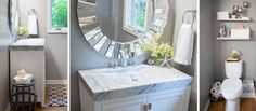 Easy Bathroom Updates | Hayneedle Blog