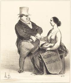 Docteur... je ne suis pas aussi malade... | Honoré Daumier, Docteur... je ne suis pas aussi malade... (1851)