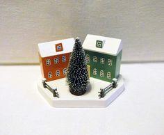 Christmas house Ornaments Handmade Christmas Little Houses