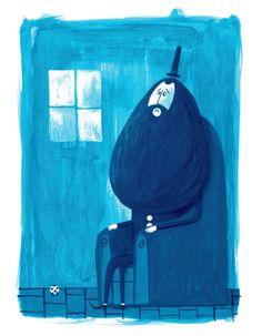 The sad giant by Kike Ibáñez @ Buhobooks Publishing