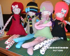 PATTERN  , Jale , the cloth doll, soft doll.