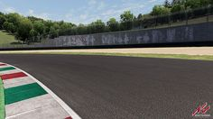 Mugello racing track laser scanned for Assetto Corsa racing game