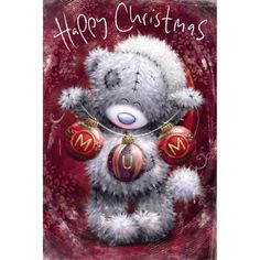 Risultati immagini per tatty teddy hd card Tatty Teddy, Christmas Hat, Christmas Cards, Cute Images, Cute Pictures, Bear Graphic, Blue Nose Friends, Cute Teddy Bears, Bear Art