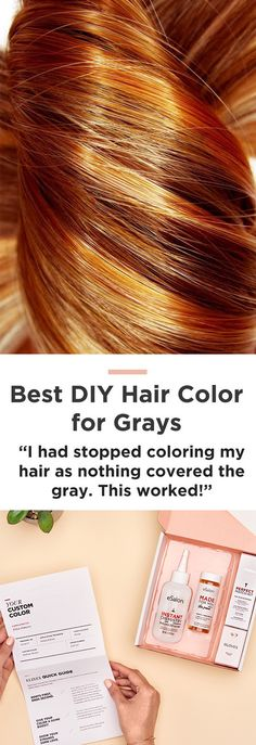 "Rethink your hair color routine: ""It was the exact hair color I was looking for...That in between color that you just can't get from store bought colors and can't get (afford) every month at the salon!"