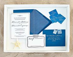 Alexi's Maritime Wedding Collection by Chykalophia Style
