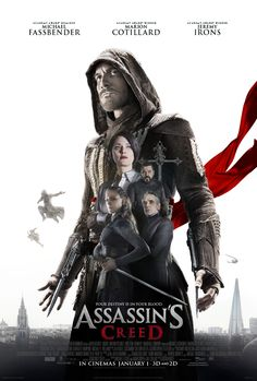 Michael Fassbender's Aguilar Stands Tall In New Poster For ASSASSIN'S CREED Movie