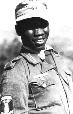 Soldier of the Free Arabian Legion in Greece, September 1943.