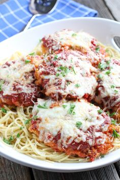 Homemade Chicken Parmesan-And it's easy!