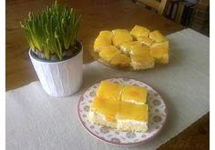 Žravé řezy - pecivorecept Czech Desserts, Sweet Recipes, Tiramisu, Cantaloupe, Nutella, Pineapple, Mango, Cheesecake, Deserts