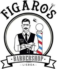 Figaros is a men only old school barbershop in Lisbon specialized in classic haircuts from 1920's to 1950's and hot towel straight razor shaves