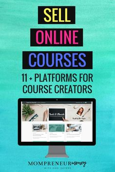 Want to sell online courses? You need an online course platform that fits your budget and your needs. Here's a list of some of the best options for solopreneurs. #makemoneyonline #blogging