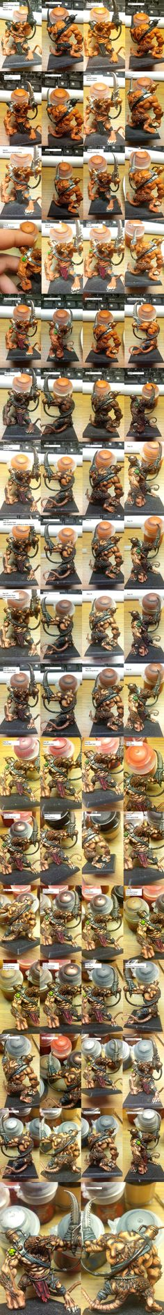 Skaven Rat Ogre - Painting Step by Step by Arival