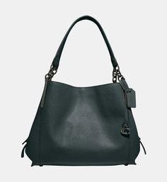 Sac hobo Dreamer en cuir Coach Noir | Galeries Lafayette Lafayette, Fashion Bags, The Dreamers, Slipcovers, Calf Leather, Monogram, Purse, Fashion Handbags