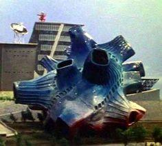 四次元怪獣ブルトン Bulton, the reality-altering monster from Ultraman.