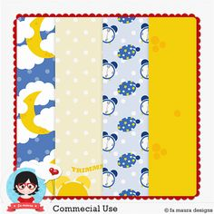 Template Paper Maker 6 - 2014 by Fa Maura
