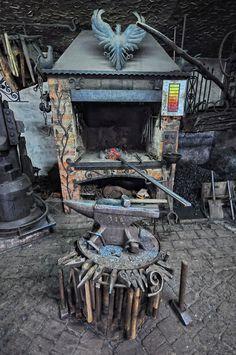 Forgotten Poland - old blacksmith forge, by Agi - Agnieszka Lewkowicz (flickr)