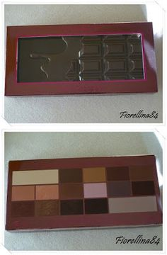 "...Fiorellina84...: Palette ""I hearth Chocolate"" di I love Make up"