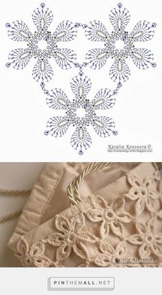 Photo from album Diy Crochet Flowers, Crochet Flower Tutorial, Crochet Doilies, Crochet Lace, Crochet Motif Patterns, Crochet Diagram, Crochet Chart, Irish Crochet, Crochet Projects