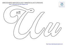 Lettering Tutorial, Hand Lettering, Soy Luna Logo, Beading Needles, Felt Decorations, Quilling Designs, Letter Templates, Stencils, Alphabet