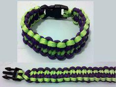 Blaze Bar Custom Paracord Bracelet by PhaedrusParacord on Etsy.