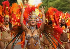 Notting Hill carnival  Europe's biggest carnival or festival.