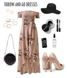 """Throw on Dress"" by izzefizzy on Polyvore featuring Rupert Sanderson, Chanel, Samsung, The Laundress, Christian Dior and Ted Baker"
