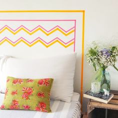 Ace Your Space: washi tape headboards