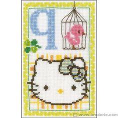 Hello kitty lettre q