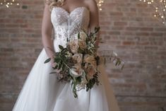 Blooms Florist, Our Wedding, Bouquet, Weddings, Photo And Video, Bridal, Wedding Dresses, Instagram, Fashion