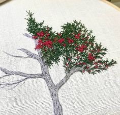 Wonderful Ribbon Embroidery Flowers by Hand Ideas. Enchanting Ribbon Embroidery Flowers by Hand Ideas. Hand Embroidery Art, Silk Ribbon Embroidery, Cross Stitch Embroidery, Embroidery Patterns, Contemporary Embroidery, Modern Embroidery, Cross Stitch Thread, Cross Stitching, Thread Painting