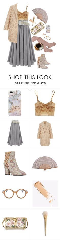 """put the kettle on, honey"" by ms-wednesday-addams ❤ liked on Polyvore featuring Recover, Zinke, Nine West, Ellen Tracy, Dolce&Gabbana, vintage and vintageflorals"