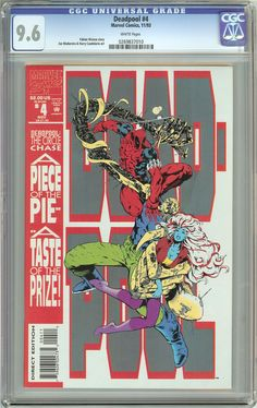 Deadpool #4 The Circle Chase (1993) CGC 9.6 White Pages 0269837010