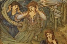 Sponsa de Libano by Burne Jones