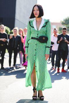 Milan Fashion Week Street Style Is 90% Gucci+#refinery29