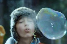 Strangely Beautiful: Watch Bubbles Freeze in High Def in This Spot for Sony's 4K TVs