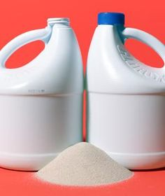 Outfit a home gym by filling two empty bottles with sand and using them as dumbbells.