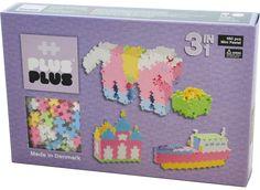 PLUS PLUS Mini Pastel 3 i 1