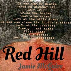 Red Hill by Jamie McGuire created by Danielle Lagasse