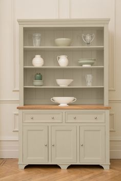 The Belvoir Dresser From Kitchen Company Painted In Boulder