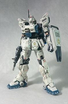 GUNDAM GUY: RG + HG 1/144 Gundam Ez-8 - Custom Build