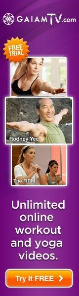 Free 10-Day Trial | Gaiam Online Yoga Practice  @ http://www.gaiamyogastudio.com/?siteID=nxYxwtUZscQ-SBlzLPVeXBV1QIrmDOaDyg