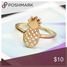 ‼️FLASH SALE ‼️pineapple ring#partynow#trendy YOU'LL GET THE BEST PRICE AROUND-->   Trendy ! ❤️❤️Pineapple ring‼️ Color: Gold <--   LIKE & ✏COMMENT TO BE NOTIFIED    Jewelry Rings