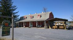 Weaver's Produce Market is on Route 422 between Lebanon and Myerstown.