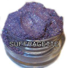 Suffragette Medium Amethyst Purple Holographic Glitter Mineral Eyeshadow Mica Pigment 5 Grams Lumikki Cosmetics on Etsy, $7.00