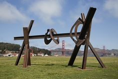 Mark di Suvero review: Grand at any scale
