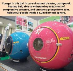 Life armour ball in case of natural disaster