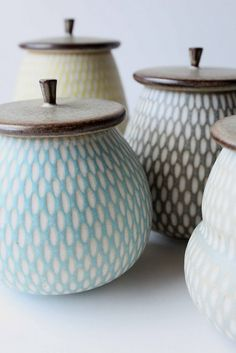 Flickr photo - gorgeous pots.