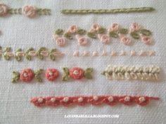 Несколько идей и способов вышивки декоративными швами   Учись делать сам