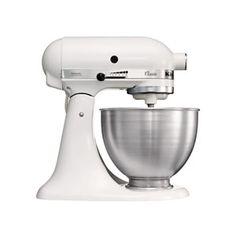 KitchenAid Classic Mixer White - (K45SS) - eCookshop