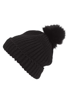 Free shipping and returns on Hinge Faux Fur Pom Beanie at Nordstrom.com. A go-to beanie nods to the season's fluffiest obsession with a pom of soft faux-fur.